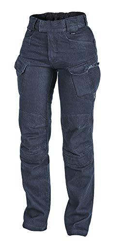 Helikon-Tex Urban Line UTP - Pantalones tácticos para mujer, Mujer, Azul vaquero., W34 - L30