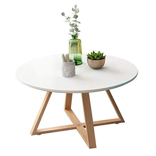 JIAHE115 Draagbare kleine salontafel salontafel, woonkamer meubels ideeën klein appartement minimalistische ronde woonkamer salontafel klein appartement woonkamer hoek