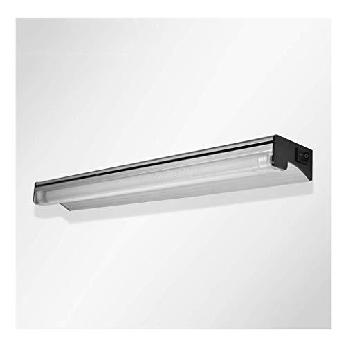 Luz frontal de espejo Faros delanteros de espejo LED - Lámpara de espejo de pared de baño minimalista moderna Escritorio de baño de baño Tubo fluorescente [Clase energética A +] (Edición: luz blanca,