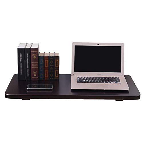 WTT – zwart inklapbaar bureau om open te klappen aan de muur, keukentafel en eettafel van hout, bureau voor kinderen (afmeting 70 x 40 cm)