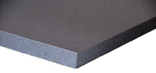 Schaumstoff Platten Set 6 Stück a 50 x 50 x 3 cm Polyurethan gem.Öko Tex St.100 anthrazit