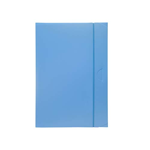 Fellowes U140AZ Cartella Progetto Dorso 3, Azzurro