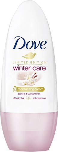 Dove Roll-on Deo, für 48 Stunden Schutz Winterpflege, 0% Alkohol, 6er pack (6 x 50 ml)