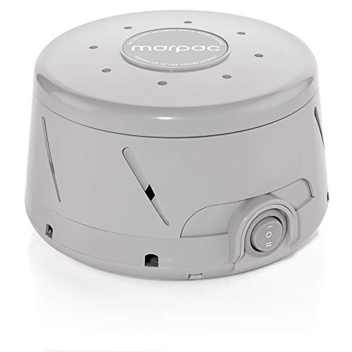 Marpac Dohm Classic (Gray) | The Original White Noise Machine | Soothing Natural Sound from a Real Fan | Noise Cancelling | Sleep Therapy, Office Privacy, Travel | For Adults & Baby | 101 Night Trial