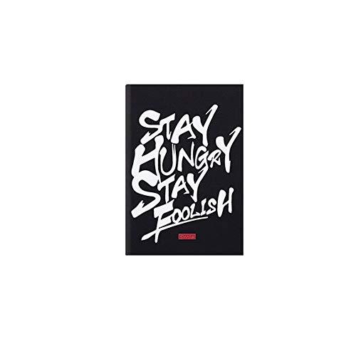 SANMEN Portátil Notebook creativo Graffiti Plan de Estudiante cuaderno de...