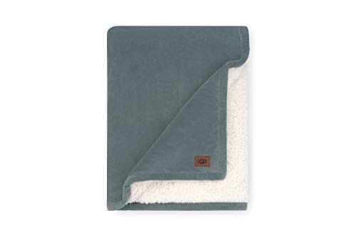 UGG Bliss Sherpa Throw, One Size, Deep Sage