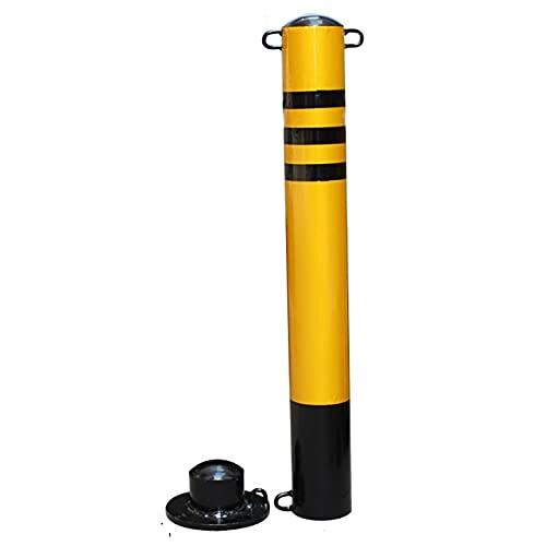 Bolardos Automaticos, Tubería De Acero De Entrada, Conos Tráficos Galvanizados, Conos Fuertes Y Duraderos, para Uso Comercial O Privado(Size:76×600CMC)