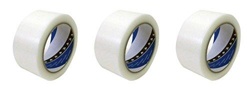 TERAOKA(寺岡) 養生用 P-カットテープ 50mm×25m (透明) No.4140 [養生テープ・マスキングテープ] (3)