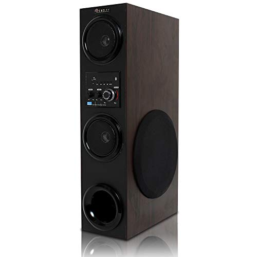 Bencley Boombayah Multimedia Tower Speaker with Aux/USB/Mic Port