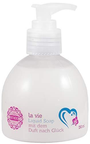 20x UMIDO Flüssigseife Spender 150 ml Duft nach Glück | Handseife für Pflege & Hygiene | Händewaschen | Seife aus dem Pumpspender | Pflegeseife | Körperpflege