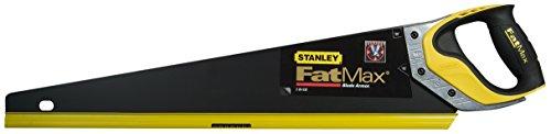 Stanley FatMax Gen2 Appliflon Handsäge (380 mm Länge, 7 Zähne/Inch, 1 mm Klingenbreite, Tri-Material-Handgriff) 2-20-528