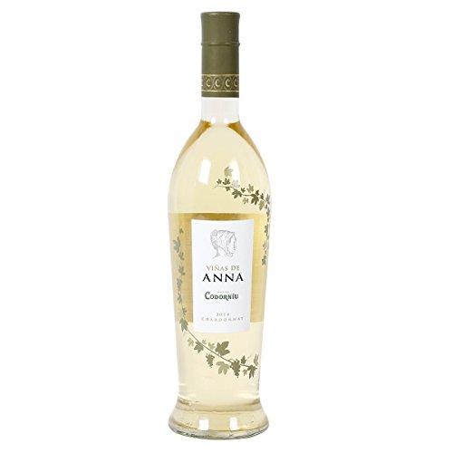 VIÑAS DE ANNA vino blanco botella 75 cl