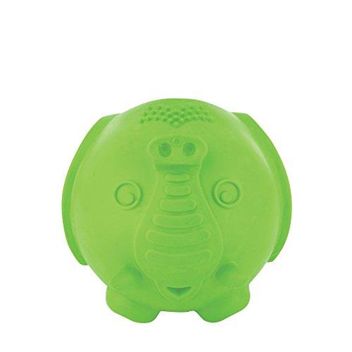 PetSafe Busy Buddy - Juguete Elephunk para Perros, Mediano/Grande, Color Verde
