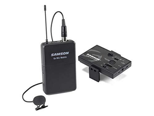Microfone Sem fio De Lapela Samson Go Mic Mobile