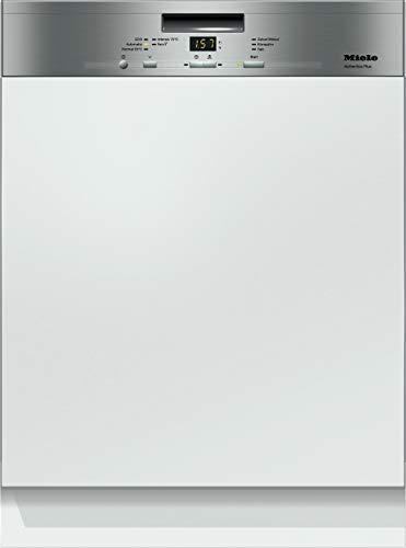 Miele G 4943 Sci Series 120 Geschirrspüler teilintegriert mit 3D-Besteckschublade / A+++ / 237 kWh / AutoOpen-Trocknung / Edelstahl-Cleanstell / 14 Maßgedecke / 45 dB / 5 Spülprogramme