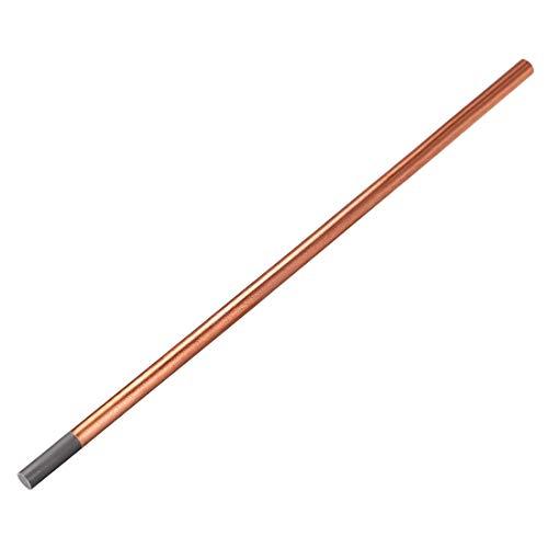Sourcingmap - Varillas de cocción de carbono revestidas de cobre, electrodos de cobre 25/64' 1 PCS