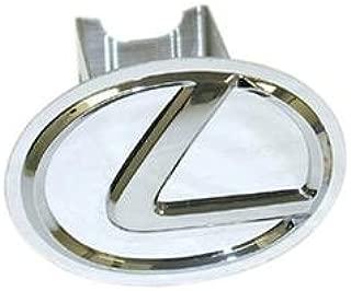 Lexus Chrome Hitch Cover with Chrome Logo