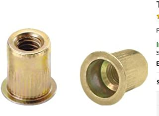 Plain Finish Large Flange 10-24 x .130-.225 Grip Range SSKL10-24-225 300 Stainless Thin-NUT Pack of 10
