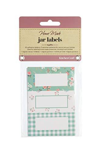 KitchenCraft Home Made Jam Jar etiketten voor potten en flessen