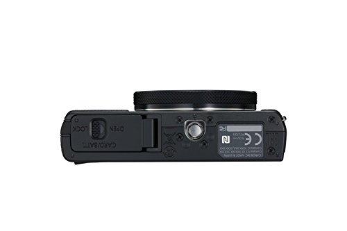 Canon PowerShot G9 X Mark II Kompaktkamera (20,1 MP, 7,5cm (3 Zoll) Display, DIGIC 7, optischer Bildstabilisator, Full-HD, WLAN, NFC, Bluetooth, Blendenautomatik; Zeitautomatik, 1080p), schwarz