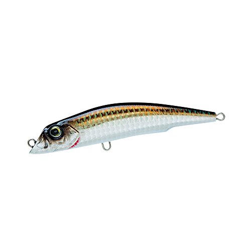 Yo-Zuri Mag Darter Floating Diver Lure, Holographic Bronze Shiner, 5-Inch