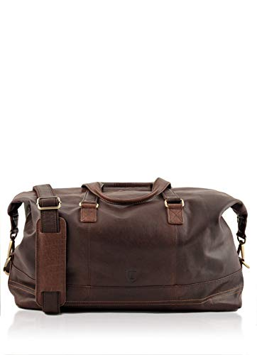 Lakeland Leather Keswick Real Leather Weekend and Overnight Holdall...