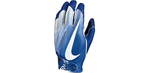 Nike Football Glove - Vapor Knit 2.0 (Game Royal/White/White, Medium)