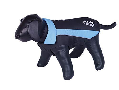 Nobby 65313 Hundemantel SABI schwarz-blau, 48 cm