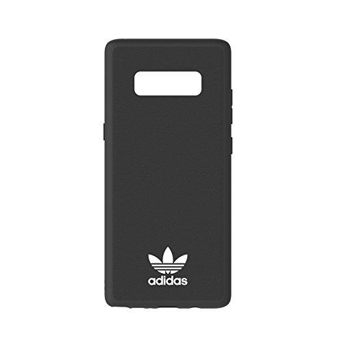 adidas 30181 Moulded Hard Funda para Samsung Galaxy Note 8, Color Negro/Blanco