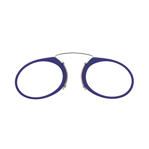 DIDINSKY Gafas de lectura sin patillas graduadas para hombre y mujer transparentes. Gafas de presbicia para hombre y mujer retro o vintage para vista cansada. Indigo +2.0 – ORSAY