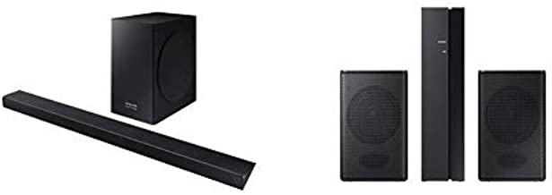 Samsung Harman Kardon HW-Q60R Samsung Acoustic Beam Q60R Series Soundbar and 2.0 Speaker System  Wireless Speaker(s) Wall Mountable Black Model
