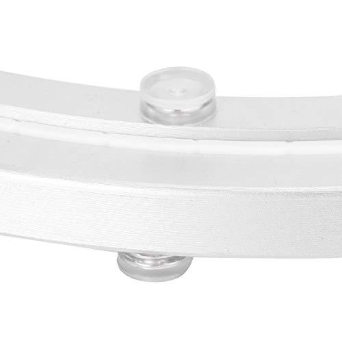 Rodamiento de mesa, hermoso rodamiento de mesa redonda, fácil de usar, duradero para maceteros(12 inches)