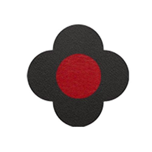 AMANOGAWA ブートニエール 132色 レザー 革 タックピン ラペルピン ブローチ ピンブローチ メンズ レディース 花 黒 レッド 赤