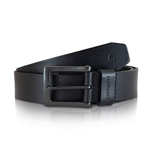 Carhartt Men's Signature Casual Belt, Anvil Black, 38