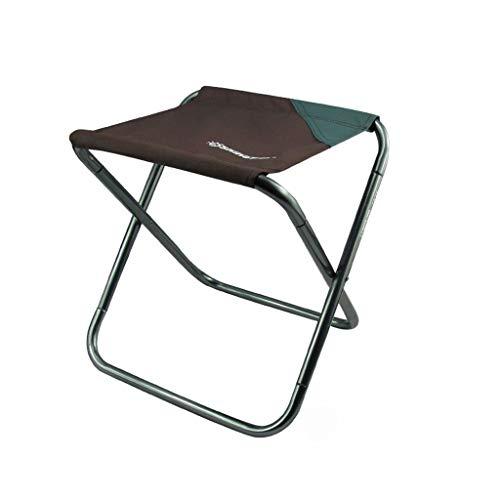 Table de Camping en Aluminium portative Se Pliante de Camping en Plein air appropriée au Camping, à la randonnée, à L'Aventure de forêt (Color : Large Brown)