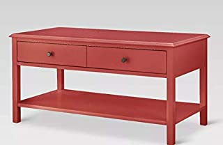 Threshold Windham Coffee Table Red