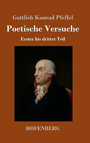 Poetische Versuche: Erster bis dritter Teil