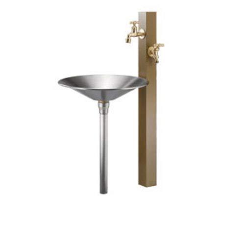 水栓柱 立水栓 小庭リウム カモ coniwarium Camo CamoProp+Stainless Pan カラー:ハニーマスタード