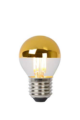 Lucide LED BULB - Glühfadenlampe - Ø 4,5 cm - LED Dim. - E27 - 1x4W 2700K - Gold