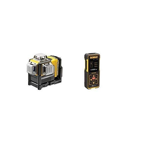Dewalt CPROF535 CPROF535-KIT = DCE089D1G + DW03050 (Laser + MEDIDOR), Nero