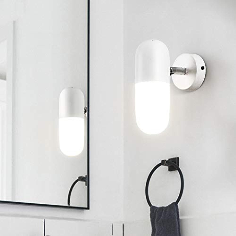 Erza yun E14 LED Moderne Wandleuchte Einstellbare Eisen Glas Wandleuchte Beleuchtung für Korridor Treppen Badezimmer Eitelkeit Licht (Farbe   Wei)