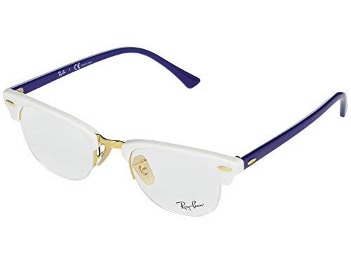 Ray-Ban 0RX4354V Monturas de gafas, White, 48 Unisex