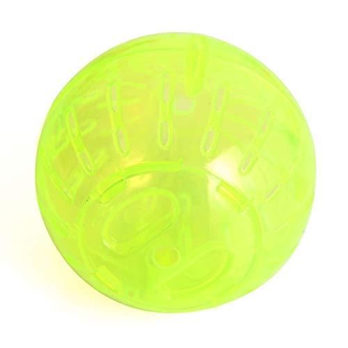 Liutao Hamster Sport Transparante bal kleur van het plafond lopen Crystal Ball Fitness Roller Sport speelgoed voor dieren producten voor huisdieren, Een