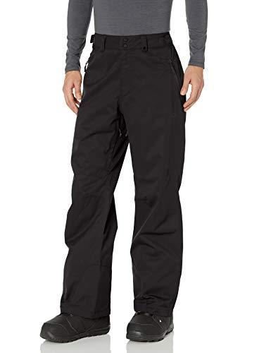 Oakley Men's Crescent 2.0 Shell 2L 10K Pant, Black/Black, L