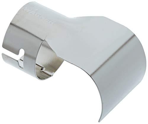 WAGNER Reflektordüse für FURNO Heißluftpistolen - zum Auftauen von Vereisten Rohren, Verbiegen von Plastik, Verschrumpfen und Isolieren von elektrischen Leitungen, Silber