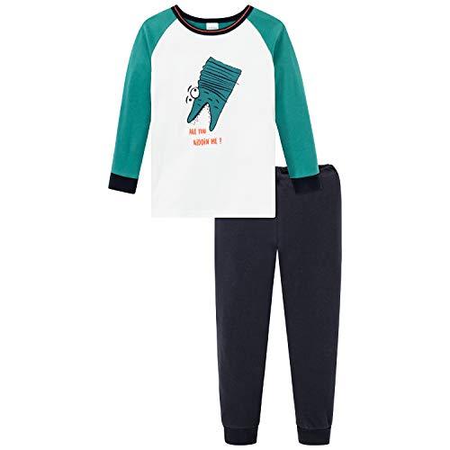 Schiesser Kn Schlafanzug Lang Juego de Pijama para Niños
