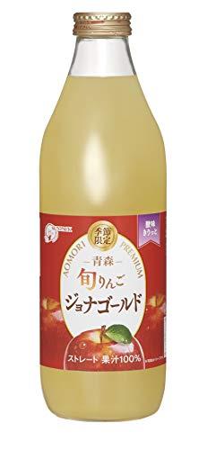 ゴールドパック 旬りんご ジョナゴールド 1L ×6本