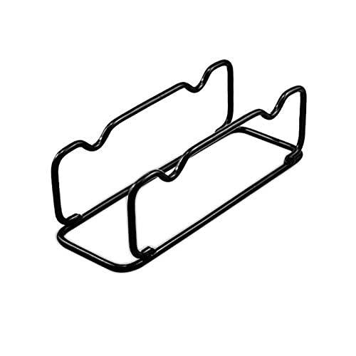 Barra de parachoques para placas, soporte de exhibición horizontal de almacenamiento de mancuernas, estante de pesas para pesas, soporte de barra olímpica…