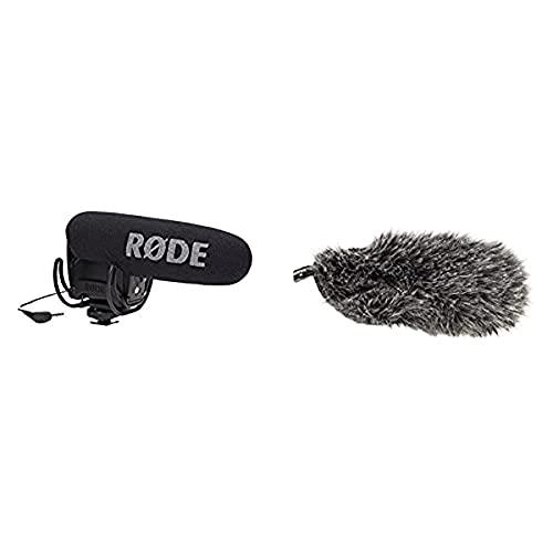 Røde Microphones Videomic Pro R Micrófono Externo para Videocámara, Color Negro +...