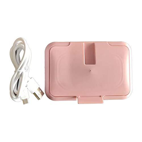 zrshygs USB Bebé Toallitas Calentador Térmico Caliente Toalla Mojada Dispensador Servilleta Calentador Caja Calentador